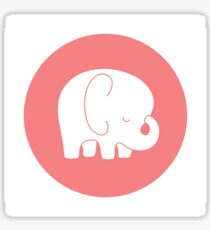 mod baby elephant Sticker