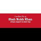 Shahrukh Khan cool tees by bollywood-tees
