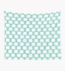 mod baby elephants mint Wall Tapestry