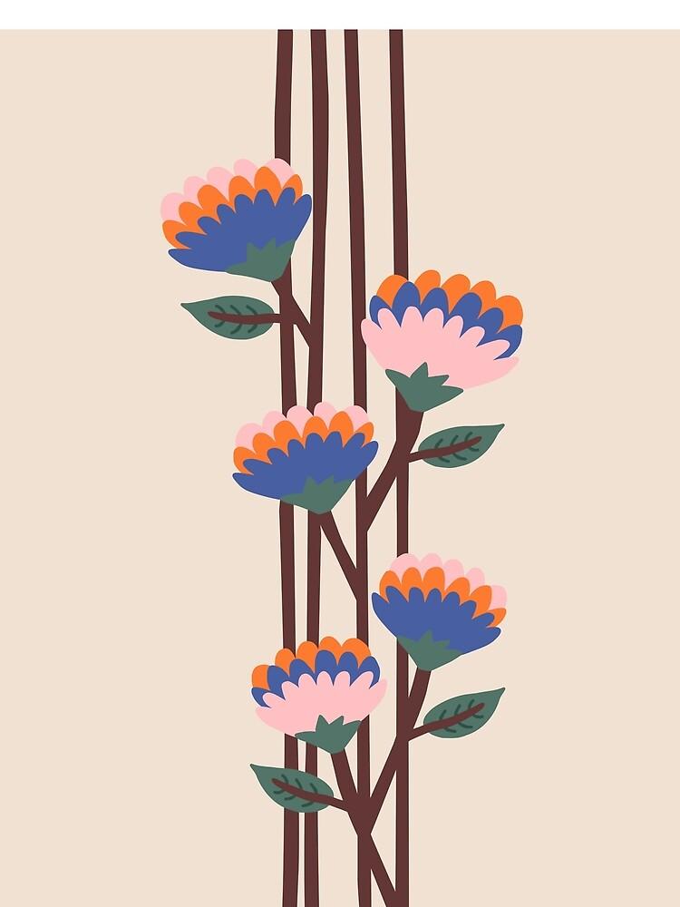 Henri Flowers by caligrafica