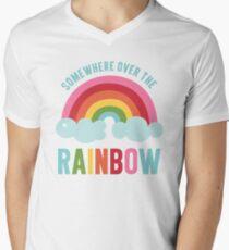 Somewhere Over the Rainbow Men's V-Neck T-Shirt