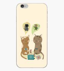 Geek Cats  iPhone Case