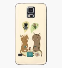 Geek Cats  Case/Skin for Samsung Galaxy