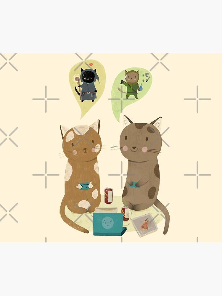 Geek Cats  by Judith-Loske