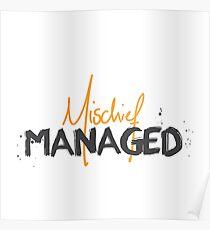 Mischief Managed No.1 Poster