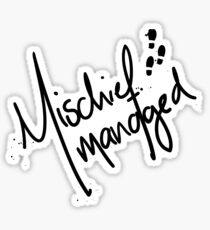 Mischief Managed No.2 Sticker