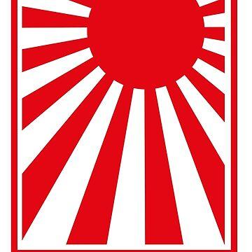 Rising Sun JDM Style sticker by MarkPMB