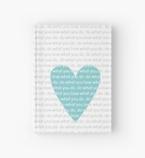 Do What You Love News Hardcover Journal