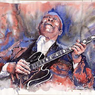 Jazz B B King 05 Red a by shevchukart