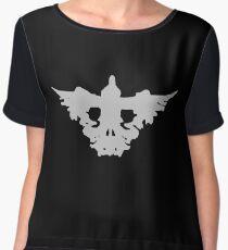 Crow Skull - Rorschach Shirt - Before the Storm - Life is Strange 1.5 Women's Chiffon Top
