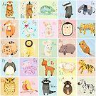 German Animal Alphabet by Judith Loske