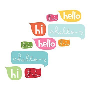 Hi Hello by MissTiina