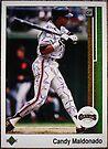 331 - Candy Maldonado by Foob's Baseball Cards