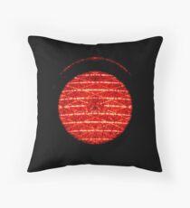 Traffic light red Throw Pillow