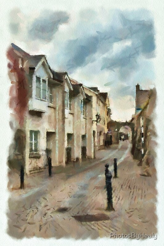Abbey Lane - watercolour by Photos by Healy