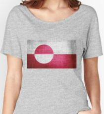 Greenland Flag Women's Relaxed Fit T-Shirt