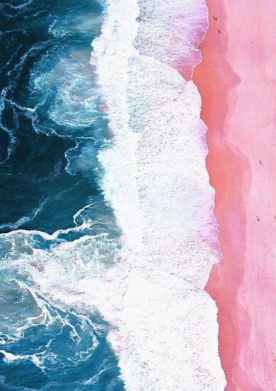 Luftstrand, Meereswellen von PrintsProject