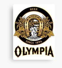 OLYMPIA Beer Canvas Print