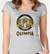 OLYMPIA Beer Women's Fitted Scoop T-Shirt