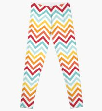Rainbow Chevron #2 Leggings