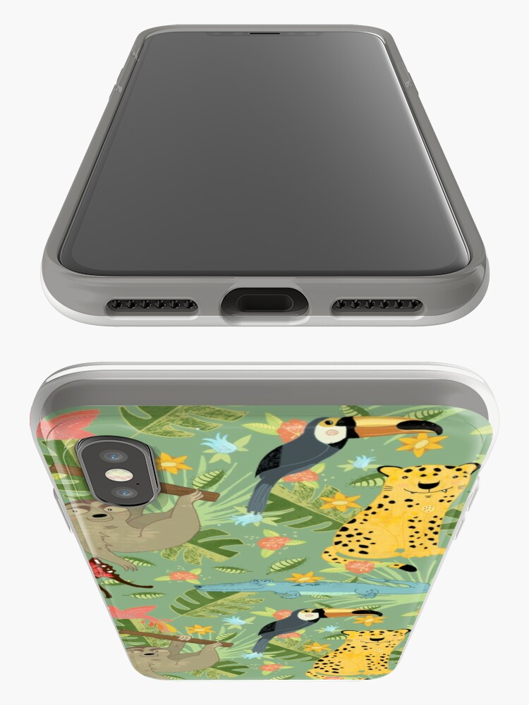 Alternate view of Jungle Adventure iPhone Case & Cover