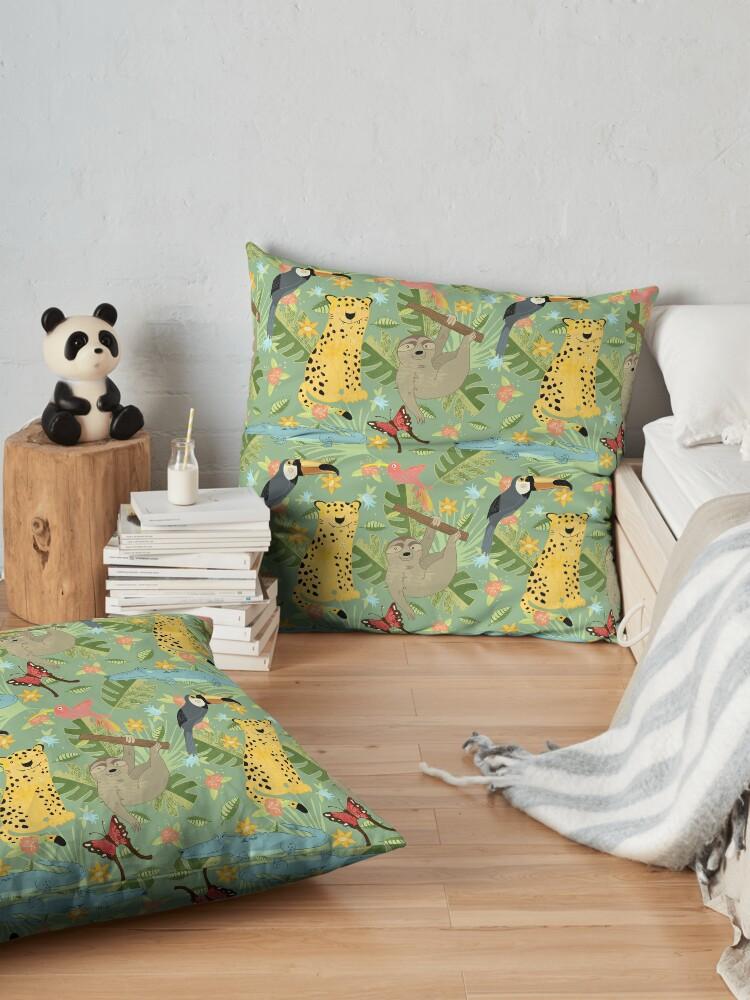 Alternate view of Jungle Adventure Floor Pillow