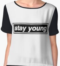 Stay Young - OASIS Chiffon Top