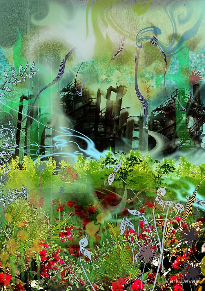 Factory Rain by Mark Devas