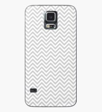 Grey Chevron Case/Skin for Samsung Galaxy