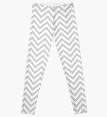Grey Chevron Leggings