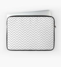 Grey Chevron Laptop Sleeve
