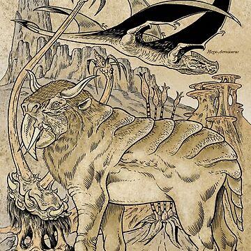 Megafauna of Hyperborea by SCARstudios