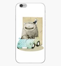 Monster In A Car iPhone Case