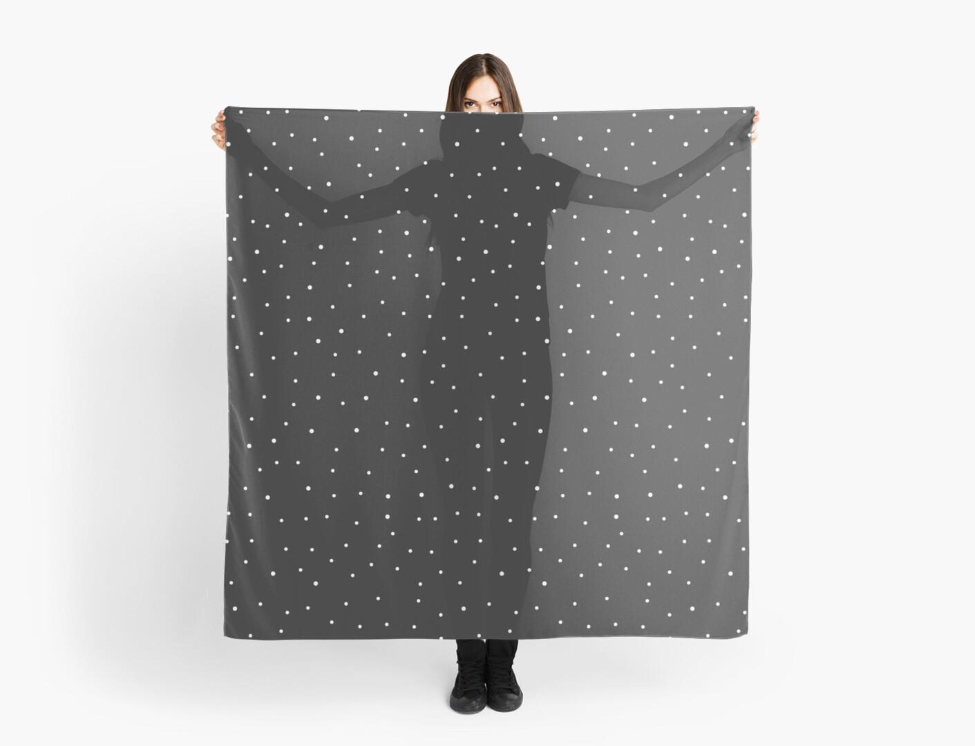 Random Dots on Black by MissTiina