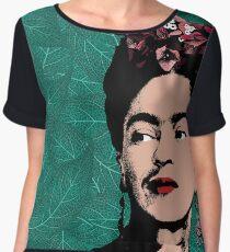 Frida Kahlo Portrait Chiffon Top