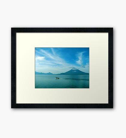 Cruisin' Atitlan Framed Print