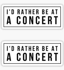 Concert Sticker