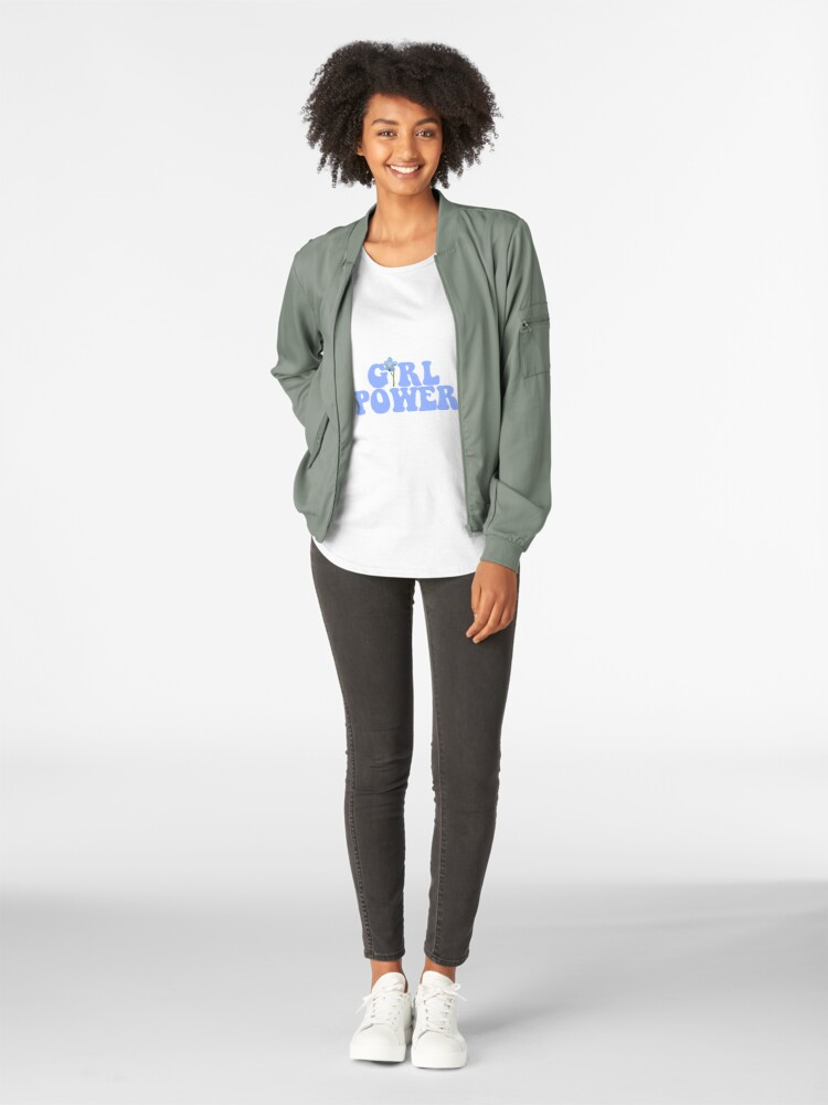 Alternate view of GIRL POWER - Style 13 Premium Scoop T-Shirt