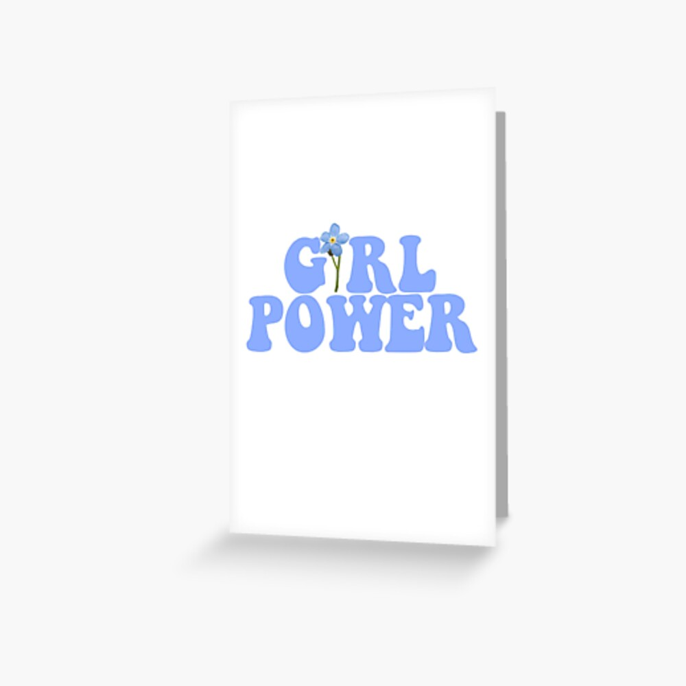 GIRL POWER - Style 13 Greeting Card