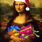 Santa Mona Lisa by Mythos57