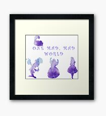 One Mad, Mad World Framed Print