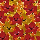 «Happy leafy Autumn mess» de EuGeniaArt