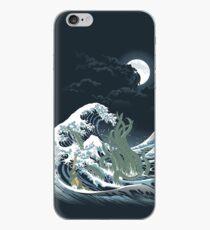 Vinilo o funda para iPhone The Wave Off R'lyeh