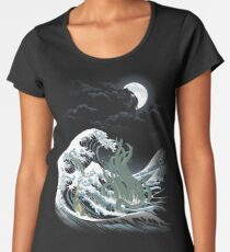 The Wave Off  R'lyeh  Women's Premium T-Shirt
