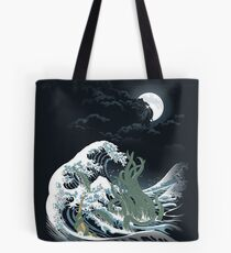 La vague de R'lyeh Tote bag