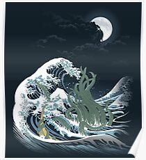 The Wave Off  R'lyeh  Poster