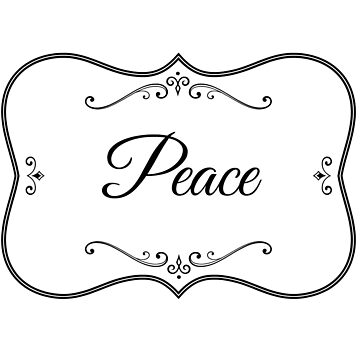 Peace by RosevineCottage