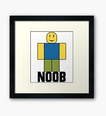 Roblox - More Noob Framed Print