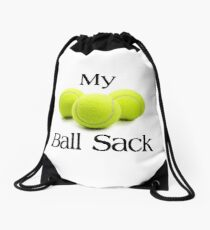 TENNIS PLAYER GIFTS - My Ball Sack Drawstring Bag