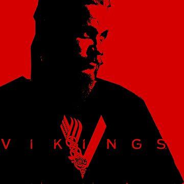 Vikings - Ragnar by ersindesign